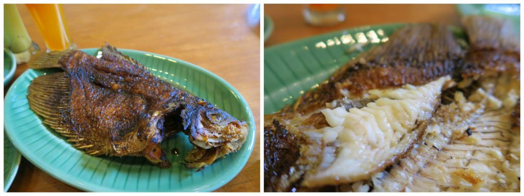 Gurame-Bakar-Grilled Fresh-water-Carp-fish