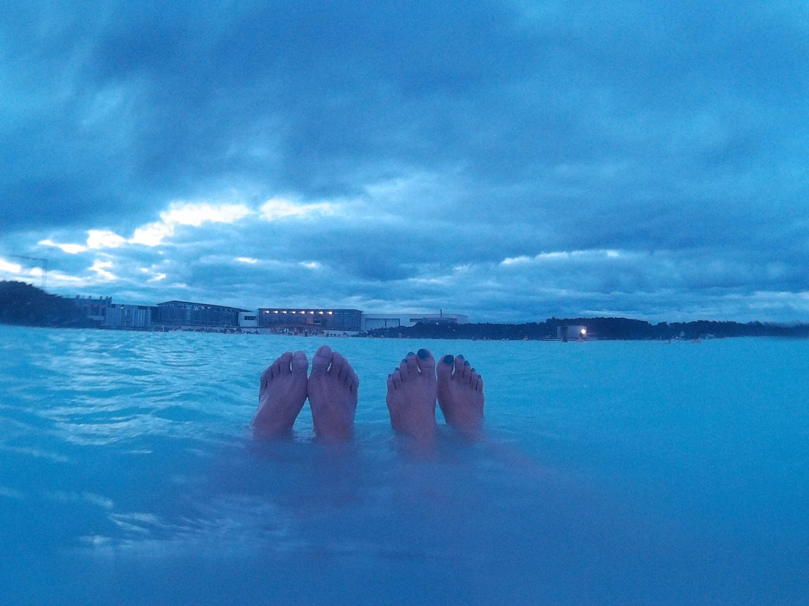Blue Lagoon Legs Shot