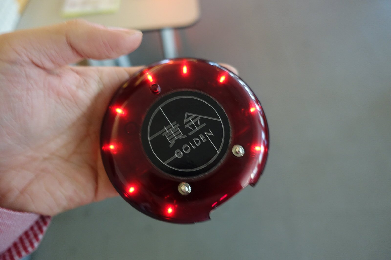 the projector buzzer