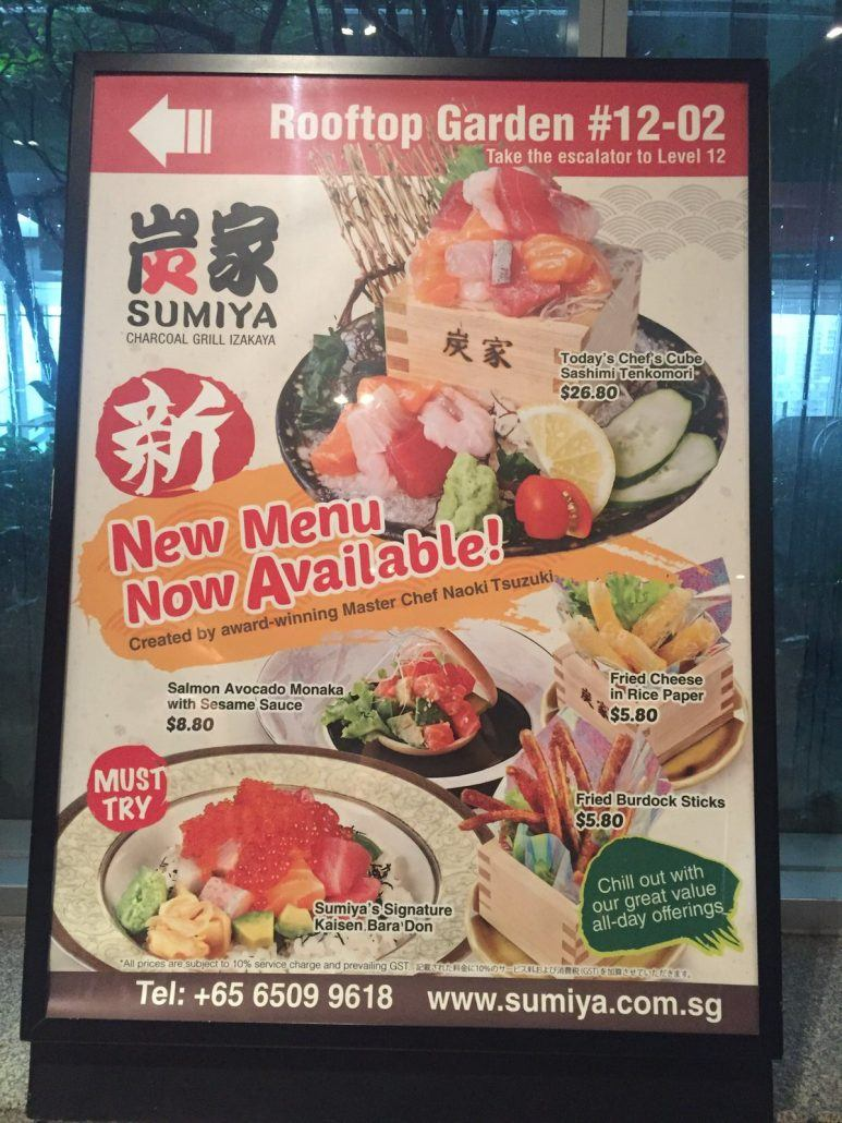 Sumiya-somerset-new-menu