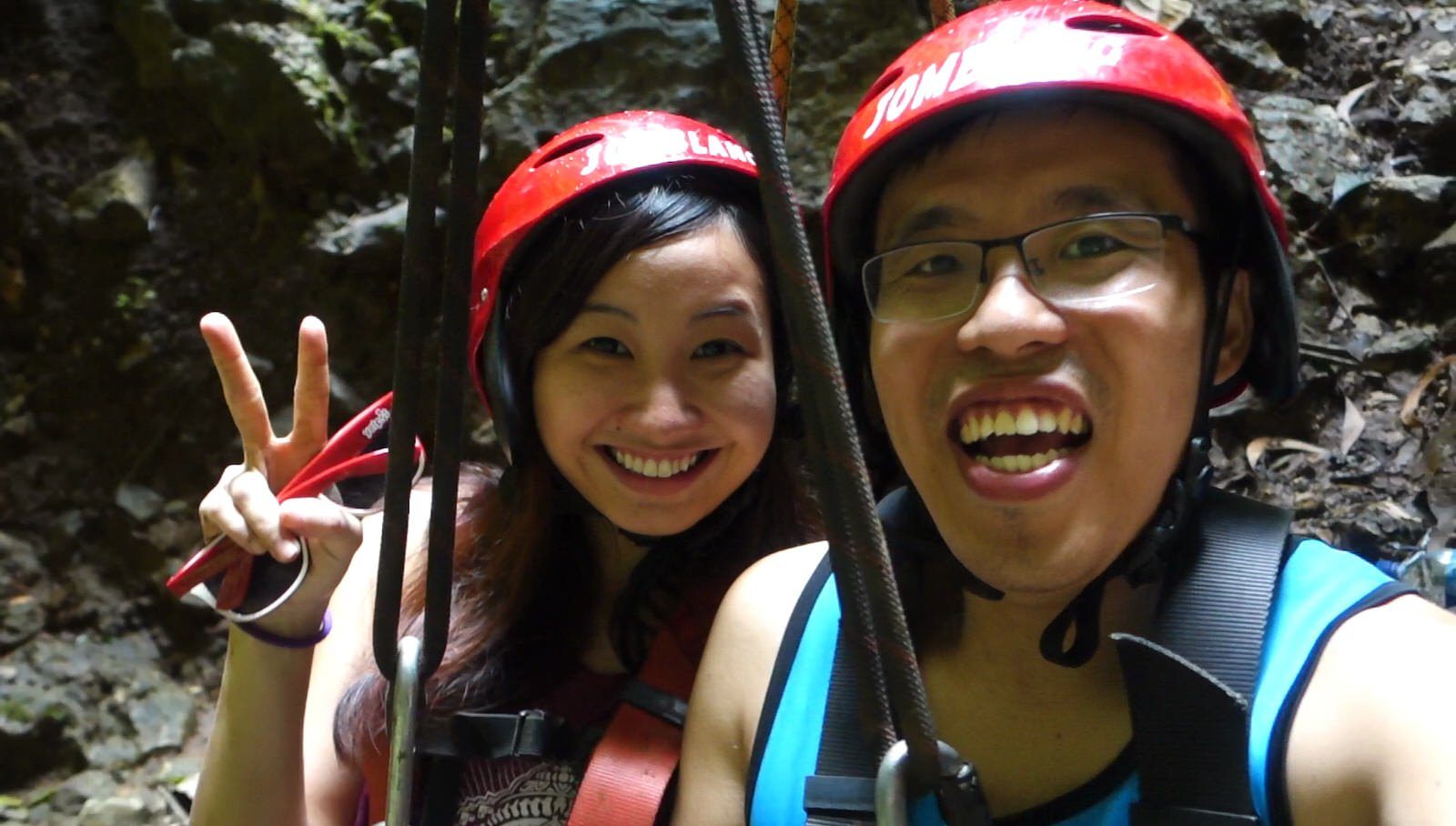 jomblang cave ready to ascend