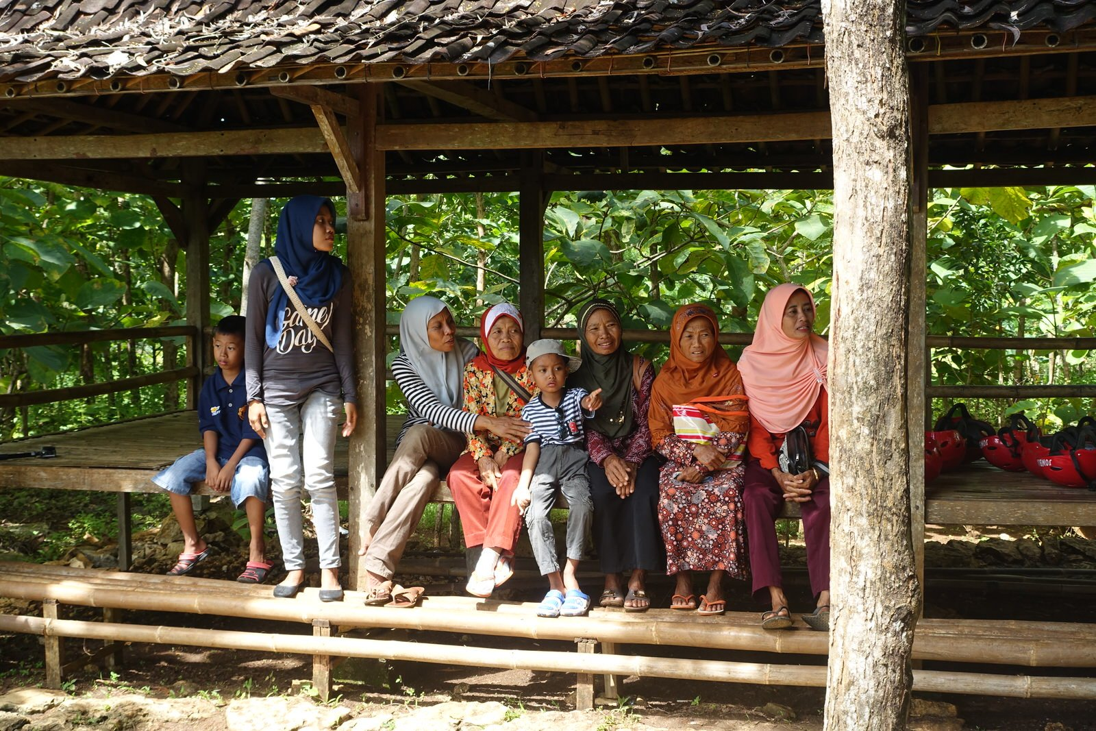 jomblang cave villagers