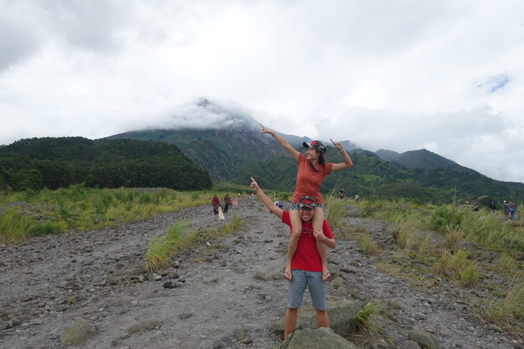 Yogjakarta Merapi Couple Shot
