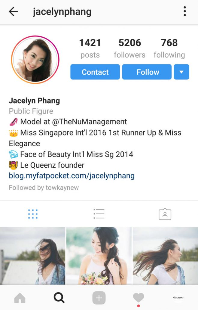 Jacelyn Phang Instagram