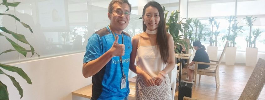 Jacelyn Phang With Towkaynew