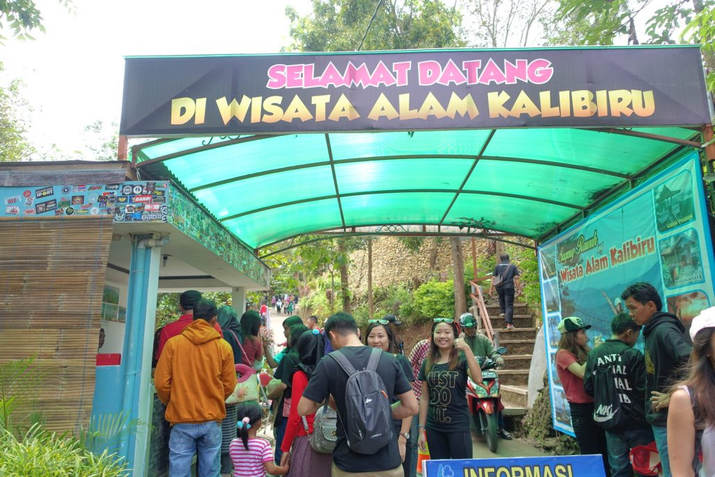 Kalibiru National Park Entrance
