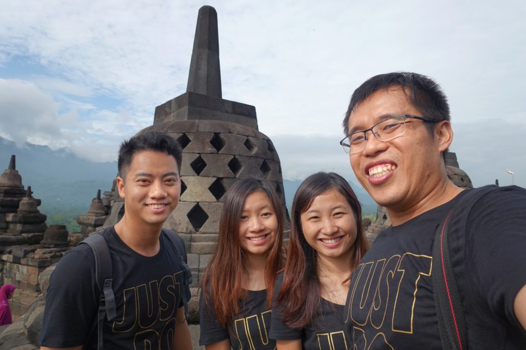 Visiting Borobudur Temple