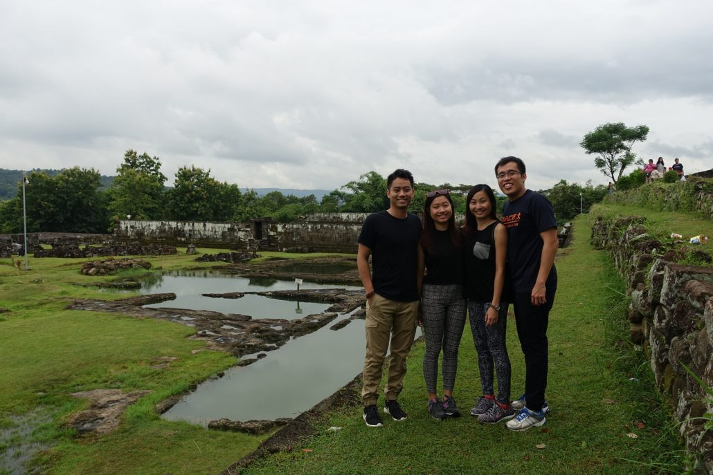 Ratu Boko Pool Group Shot