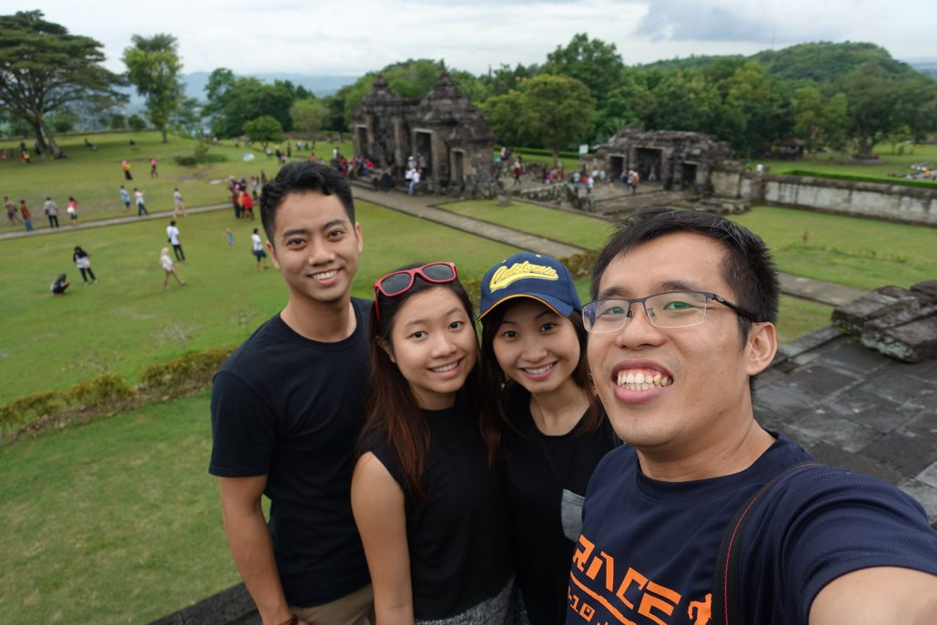 Ratu Boko Top View